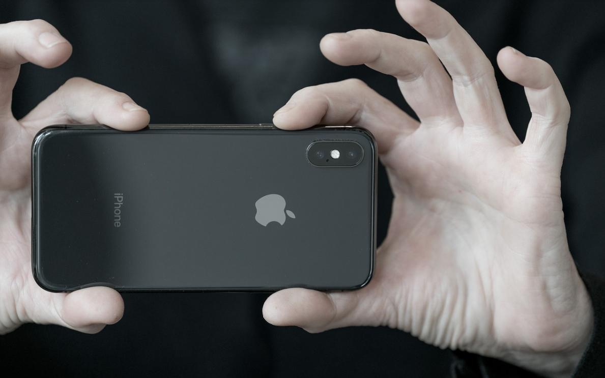 černý iPhone
