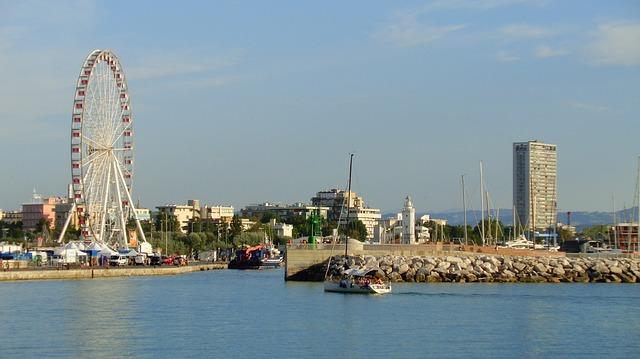 Rimini panorama