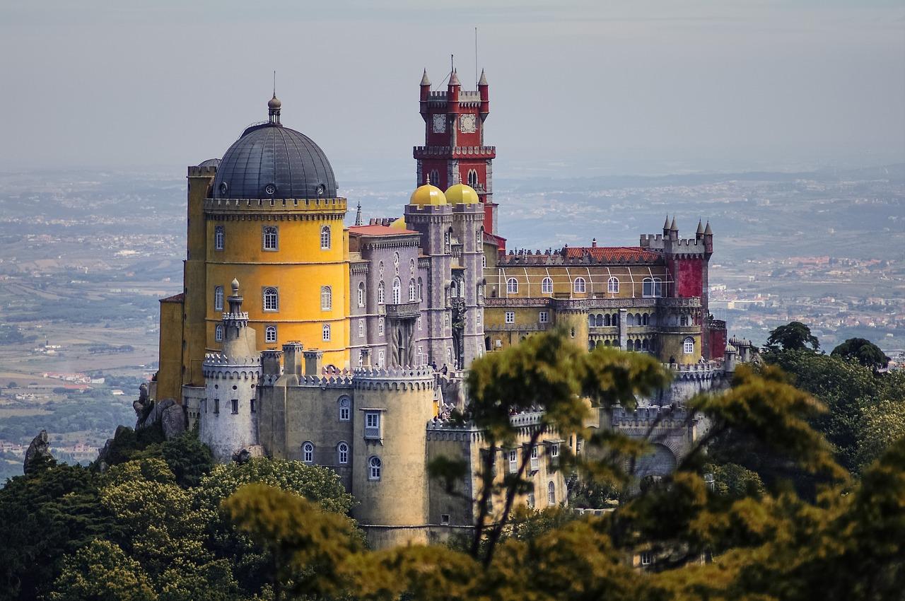 hrad v Portugalsku