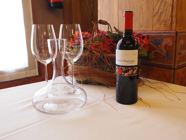 poháry na víno