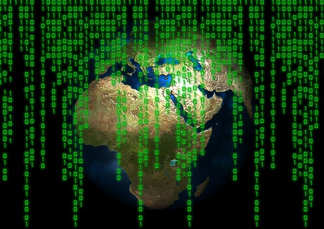země internetu