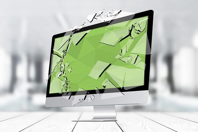 poškozený počítač