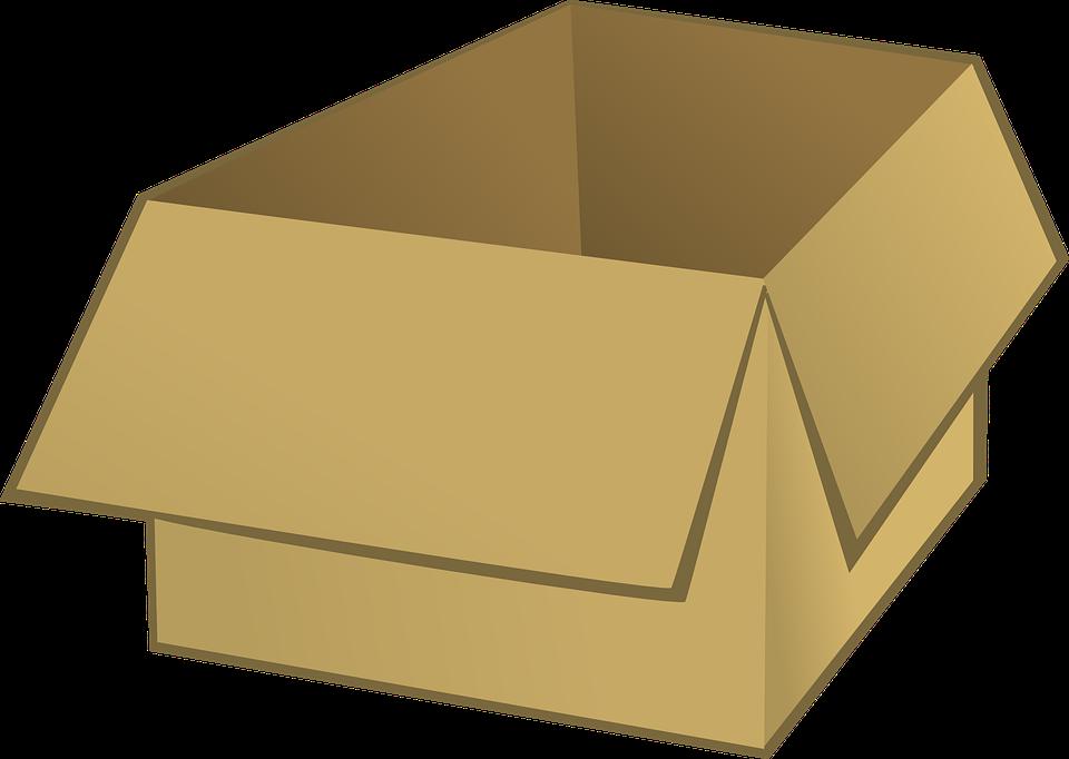 kreslená krabice